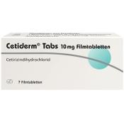 Cetiderm® Tabs 10 mg