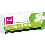 Cetirizin AbZ 10 mg
