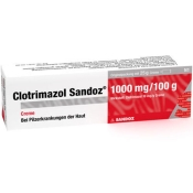 Clotrimazol Sandoz 1000 mg Creme