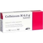 Coffeinum® N 0,2 g Tabletten