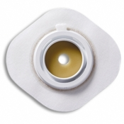 ConSecura® Flache Basisplatte mit flexibler Klebefläche Stomahesive® 57 mm
