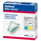 Cutimed® Siltec® Sorbact® 22,5cm x 22,5cm
