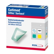Cutimed® Siltec® Sorbact® 7,5cm x 7,5cm