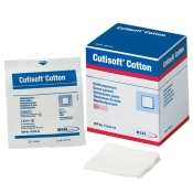 Cutisoft® Cotton Kompressen unsteril 8-fach 7,5 x 7,5cm
