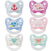 Dentistar BS Silikon mit Ring für Babys ab dem 1. Zahn