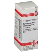 DHU Aurum chloratum natronatum D8 Globuli