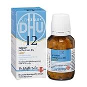 DHU Biochemie 12 Calcium sulfuricum D6 karto