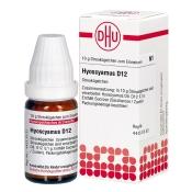 DHU Hyoscyamus D12 Globuli