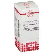 DHU Lithium chloratum D12 Tabletten