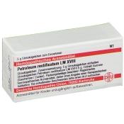 DHU Petroleum rectificatum LM XVIII Globuli