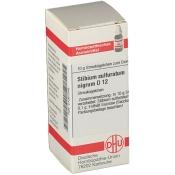 DHU Stibium sulfuratum nigrum D12 Globuli
