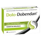 Dolo-Dobendan® 1,4 mg / 10 mg Lutschtabletten + SAGROTAN® Desinfektionstücher GRATIS