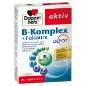 Doppelherz® aktiv B-Komplex + Folsäure DEPOT Tabletten