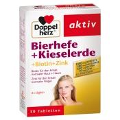 Doppelherz® aktiv Bierhefe + Kieselerde + Biotin + Zink Tabletten