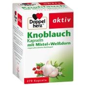 Doppelherz® aktiv Knoblauch Kapseln mit Misteln + Weißdorn