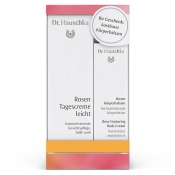 Dr. Hauschka® Rosen Tagescreme leicht + Rosen Körperbalsam
