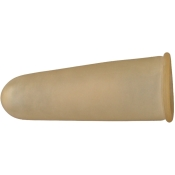Dr. Junghans® Fingerling aus Gummi transparent 2,2 cm