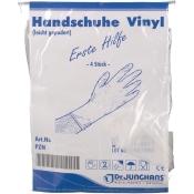 Dr. Junghans® Handschuhe Vinyl unsteril Gr. S leicht gepudert