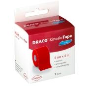 Draco KinesioTape Rot 5cm x 5m