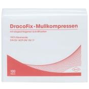 DracoFix Mullkompressen unsteril 8fach 7,5x7,5cm
