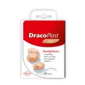 Dracoplast Soft Rundpflaster hautfarben 2,2 cm
