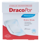 DracoPor Waterproof Wundverband steril 8x10cm