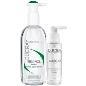 DUCRAY SENSINOL Shampoo und Serum Pflegeset