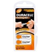 Duracell Batterien für Hörgeräte EasyTab 13 6-er Blister