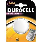 DURACELL® Lithium Knopfzelle 2430