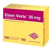 Eisen Verla® 35 mg Tabletten