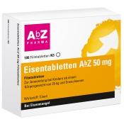 Eisentabletten AbZ 50 mg