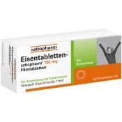 Eisentabletten-ratiopharm® 100 mg Filmtabletten