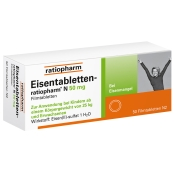 Eisentabletten-ratiopharm® N 50 mg Filmtabletten