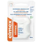 elmex® Zahnseide ungewachst mit Aminfluorid