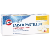 EMSER Pastillen® ohne Menthol zuckerfrei