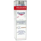 Eucerin® HYALURON-FILLER CC-Cream mittel +20 mlTagespflege GRATIS