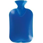 fashy Wärmflasche Doppellamelle saphir