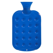 fashy Wärmflasche in Kissen-Design Königsblau
