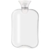 fashy Wärmflasche transparent weiß