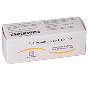 Fb1 Aconitum cp D10 JSO Globuli