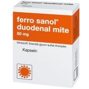 ferro sanol® duodenal mite 50 mg
