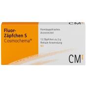 Fluor-Zäpfchen S Cosmochema® Supp.