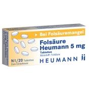 Folsäure Heumann 5 mg