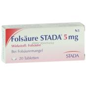 Folsäure STADA® 5 mg Tabletten