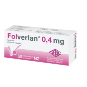 Folverlan® 0,4 mg Tabletten