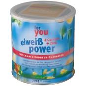 for you eiweiß power Erdbeer-Rhabarber