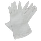 FRANK® Zwirnhandschuhe aus Baumwoll-Trikot weiß Gr. 9