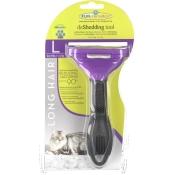 FURminator® deShedding Tool für langhaarige große Katzen