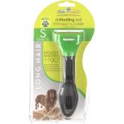 FURminator® deShedding Tool für langhaarige kleine Hunde