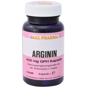 GALL PHARMA Arginin 400mg Gph Kapseln